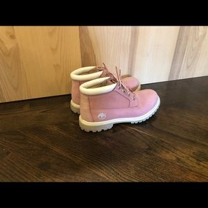 Pink Women's Classic Timberland Boots